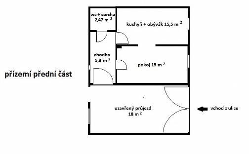 Prodej bytu 2+kk 39m², Kpt. Jaroše, Lysá nad Labem, okres Nymburk