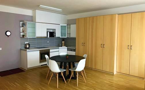 Pronájem bytu 1+kk, 46 m², Rohanské nábřeží, Praha 8 - Karlín