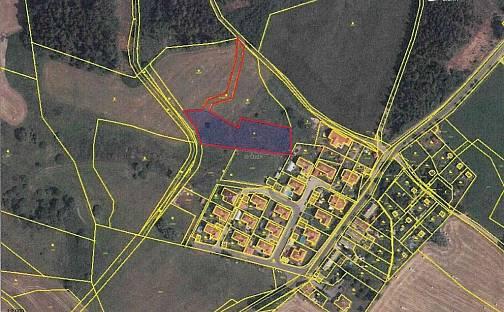 Prodej stavební parcely, 3995 m², Příbram