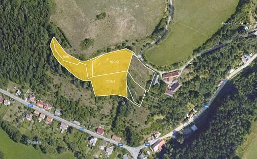 Prodej stavebního pozemku, 9605 m², Svojanov, okres Svitavy
