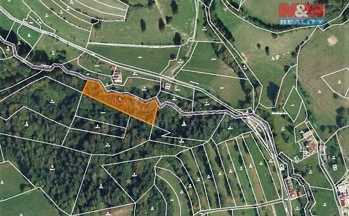 Prodej lesa 4913m², Huslenky, okres Vsetín