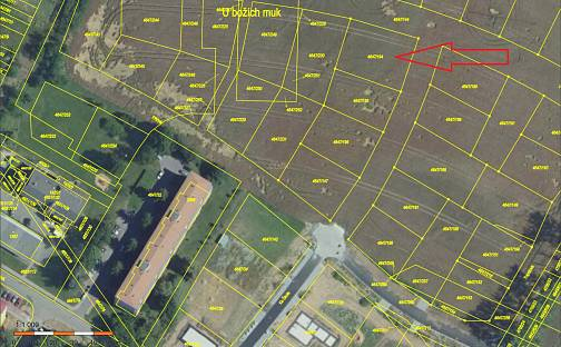 Prodej stavebního pozemku 961m², Hutník, Veselí nad Moravou, okres Hodonín