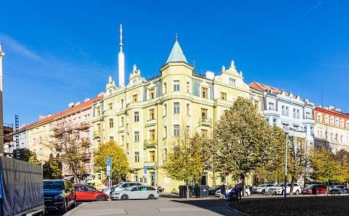 Pronájem bytu 2+kk, 90 m², Laubova, Praha 3 - Vinohrady
