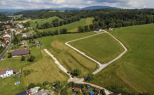 Prodej stavebního pozemku, 1496 m², Prosečné