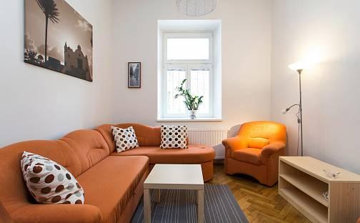 Pronájem bytu 1+1, 48 m², Kubelíkova, Praha 3 - Žižkov