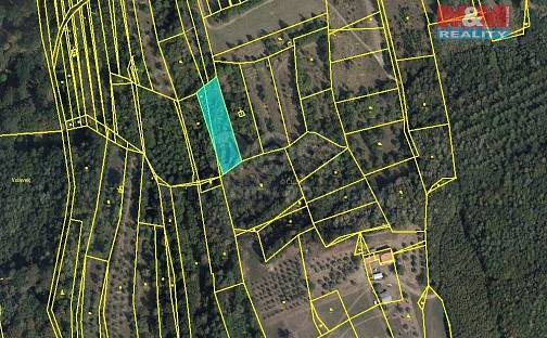 Prodej pole, 935 m², Koryčany, okres Kroměříž