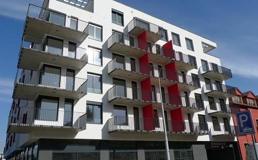 Pronájem garážového stání v novostavbě domu, ul. U Červeného mlýna, Brno - Ponava, U Červeného mlýna, Brno - Ponava