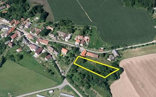 Prodej stavebního pozemku 2227m², Hvožďany, okres Příbram
