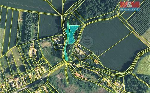 Prodej lesa 1452m², Údrnice, okres Jičín