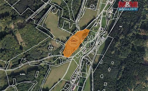 Prodej louky, 9159 m², Vápenná, okres Jeseník