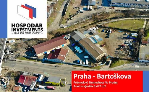 Prodej skladovacích prostor, Bartoškova, Praha 4 - Michle