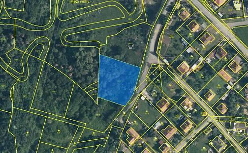 Prodej stavebního pozemku 2471m², Chvatěruby, okres Mělník