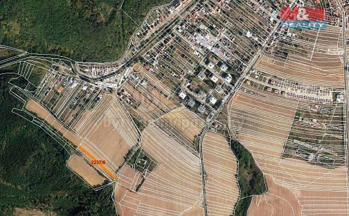 Prodej pole, 686 m², Veverská Bítýška, okres Brno-venkov