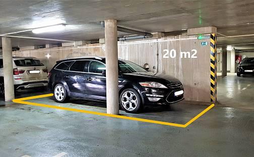 Pronájem Kryté parkovací stání v Brně – Černovicích, Klíčova, Brno - Černovice