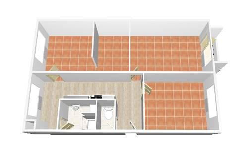 Pronájem bytu 3+1, 76 m², Uherské Hradiště - Jarošov