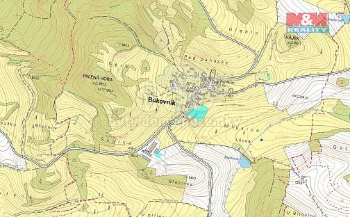 Prodej pole, 99562 m², Bukovník, okres Klatovy