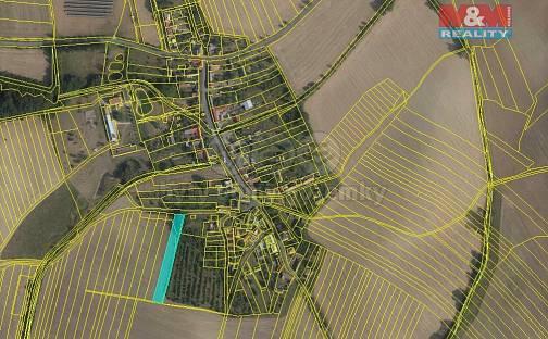 Prodej pole, 2307 m², Honětice, okres Kroměříž