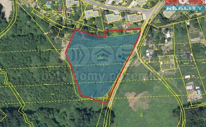 Prodej louky, 7082 m², Březová, okres Sokolov