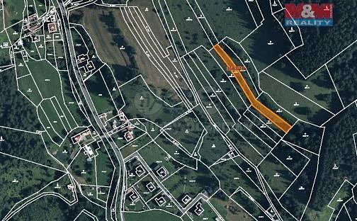 Prodej louky 2509m², Halenkov, okres Vsetín