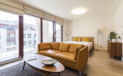 Prodej bytu 1+kk 52m², U Nikolajky, Praha 5 - Smíchov