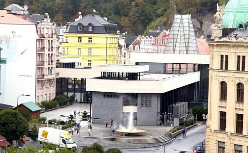 Pronájem bytu 2+kk, 65 m², Divadelní náměstí, Karlovy Vary