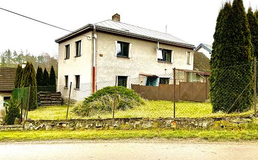 Prodej domu 226m² s pozemkem 1027m², Luka nad Jihlavou - Předboř, okres Jihlava