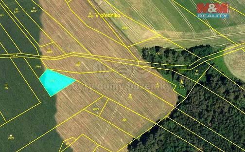 Prodej pole, 318 m², Borovník, okres Brno-venkov