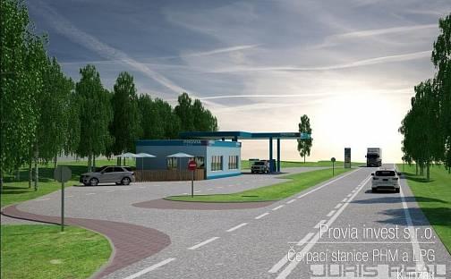 Prodej komerčního pozemku, 2856 m², Kunžak, okres Jindřichův Hradec