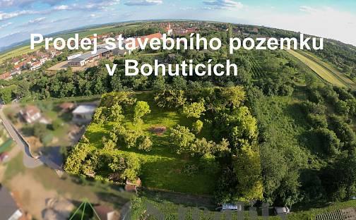 Prodej stavebního pozemku, 2007 m², Bohutice, okres Znojmo