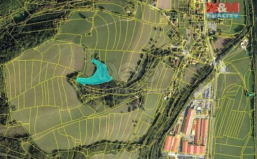 Prodej lesa, 6606 m², Leskovec, okres Vsetín