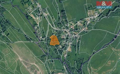Prodej zahrady, 7463 m², Volfartice, okres Česká Lípa