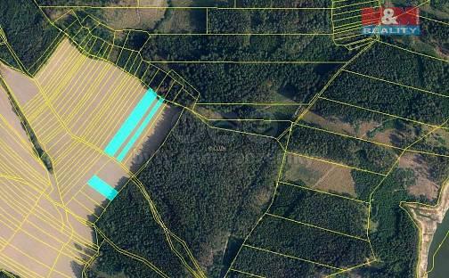 Prodej pole, 1418 m², Boskovice, okres Blansko
