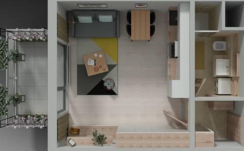 Prodej bytu 1+kk, 30 m², Svitavská, Brno - Husovice