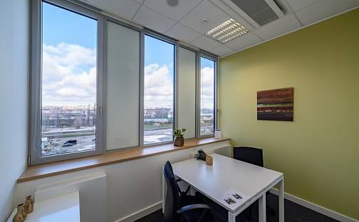 Pronájem kanceláře, 50 m², Rohanské nábřeží, Praha 8 - Karlín