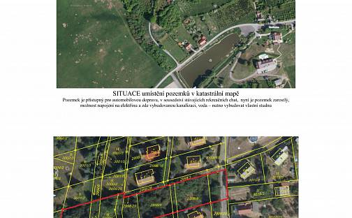 Prodej stavebního pozemku, 2025 m², Osvětimany, okres Uherské Hradiště