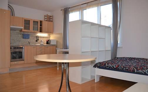 Pronájem bytu 1+kk, 36 m², U Zvonařky, Praha 2 - Vinohrady