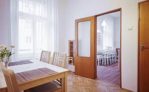 Pronájem bytu 2+1, 70 m², Ostrovského, Praha 5 - Smíchov