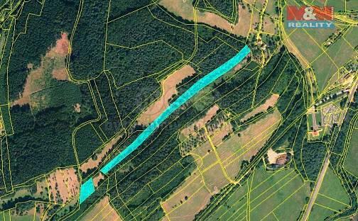 Prodej lesa, 13453 m², Lutonina, okres Zlín