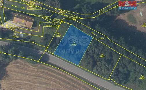 Prodej pozemku, 827 m², Tutleky, okres Rychnov nad Kněžnou