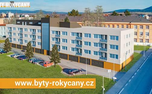 Byty Rokycany - 42 nových bytů s garážovým stáním a lodžií nebo terasou, Dělostřelců, Rokycany