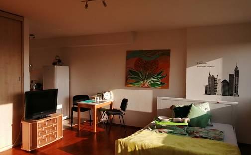 Pronájem bytu 1+kk, 42 m², Přeštická, Praha 10 - Hostivař