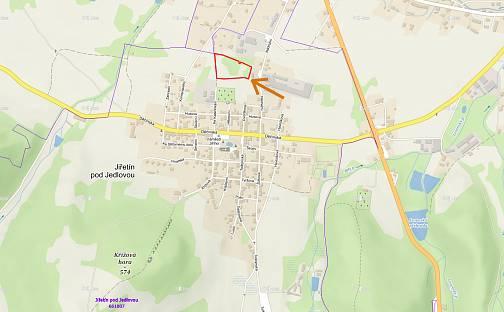 Prodej stavebního pozemku, 12075 m², Jiřetín pod Jedlovou, okres Děčín