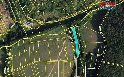 Prodej louky, 1302 m², Žlutava, okres Zlín