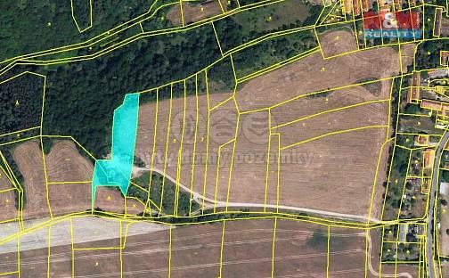Prodej pole, 3750 m², Slabce, okres Rakovník
