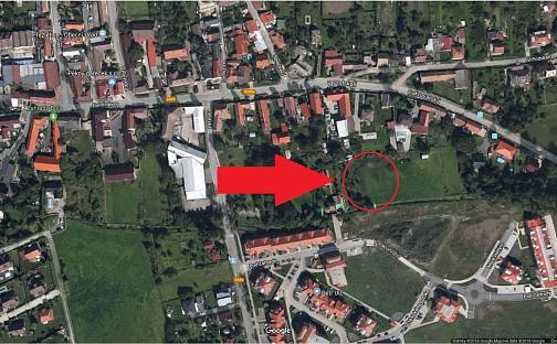 Prodej stavebního pozemku, 1831 m², Pod Zahrady, Přezletice, okres Praha-východ