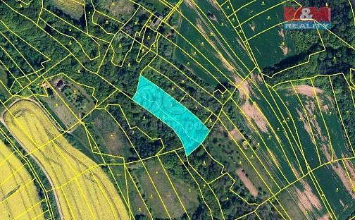 Prodej lesa, 5007 m², Traplice, okres Uherské Hradiště