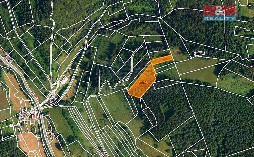 Prodej louky 4840m², Halenkov, okres Vsetín