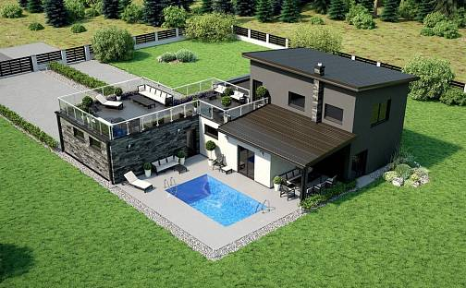 Prodej domu na klíč 210 m²,