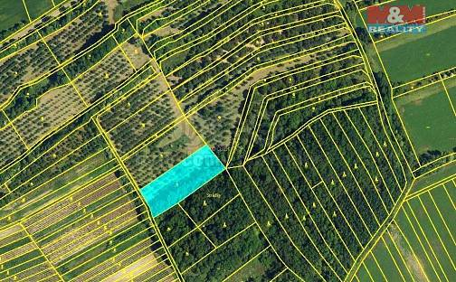 Prodej pole, 940 m², Kobylí, okres Břeclav