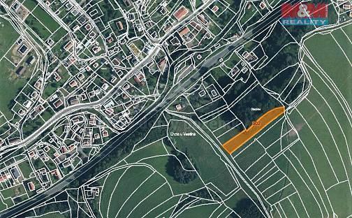Prodej louky 3043m², Lhota u Vsetína, okres Vsetín